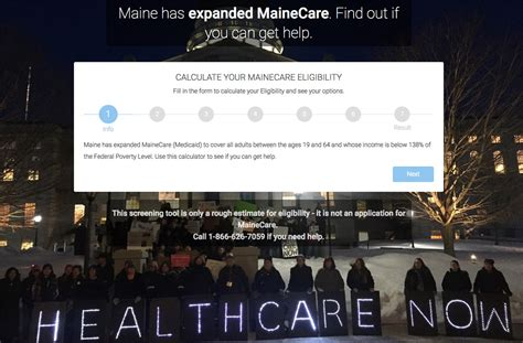 mainers begin applying for medicaid expansion as lepage