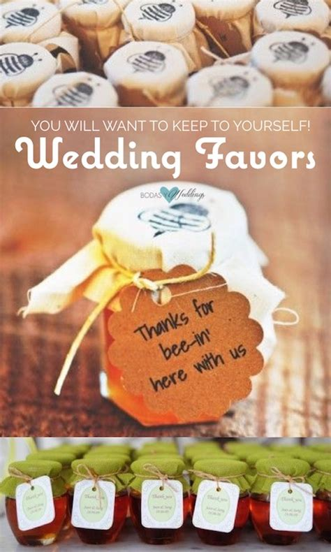 Wedding Favors Honey by 41 Wedding Favors You Ll A Tough Time Parting With