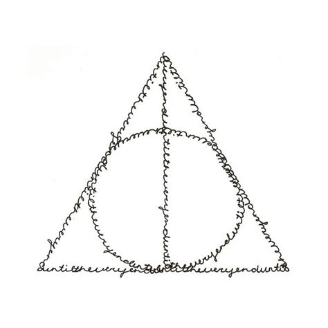 deathly hallows symbol small tatoo that means a lot