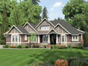 one story homes craftsman one story house plans images if we build