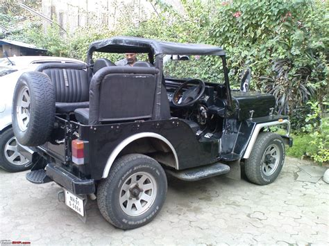 classic jeep modified mahindra classic upgrade team bhp