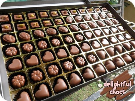 How To Make Handmade Chocolates - delightful chocs chocolate d