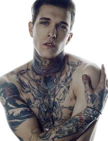hottest tattooed male models page 3 of 10 alux com