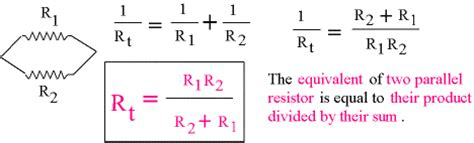 two resistors in parallel equation new page 1 www pstcc edu