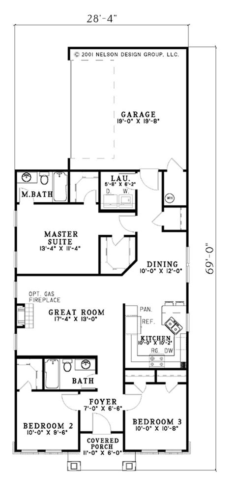 Arts And Crafts Floor Plans by Small Arts And Crafts House Plans Home Design Ndg626 4062