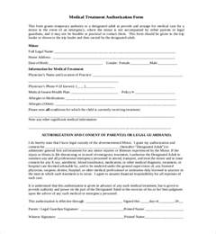 Authorization Letter For Child Travel And Medical sample child medical consent forms sample forms