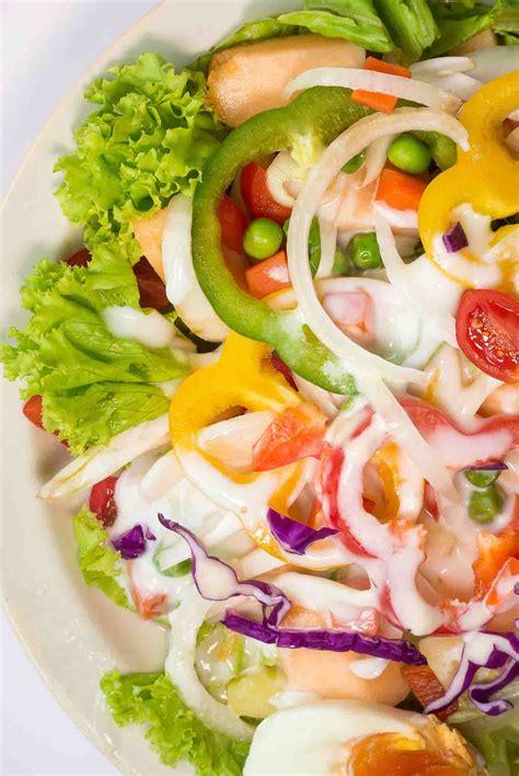 Summer Kitchen Salads summer lettuce salad recipe by archana s kitchen