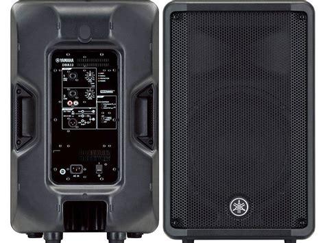 Per Standar Sing 2tone Yamaha yamaha dbr12 2 way 1000 watt powered pa speaker each
