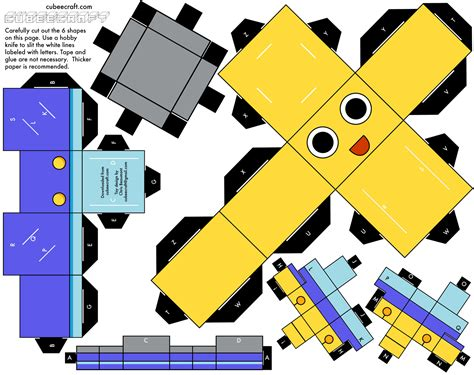 New Papercraft - mega gt thread gt mega cubeecraft