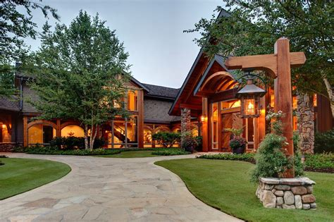driveway l post ideas exterior traditional with