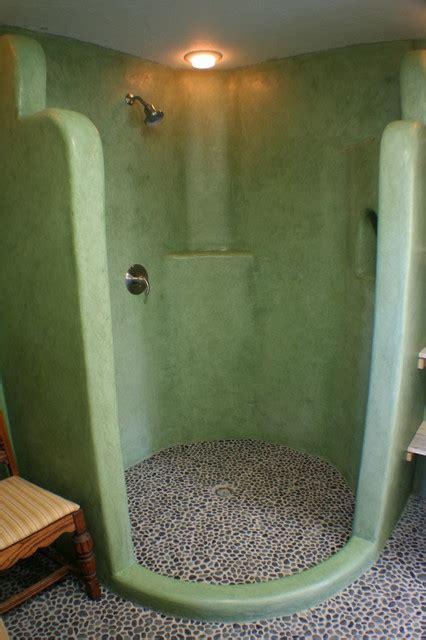 Bathroom With Bath And Shower tadelakt modern badezimmer salt lake city von