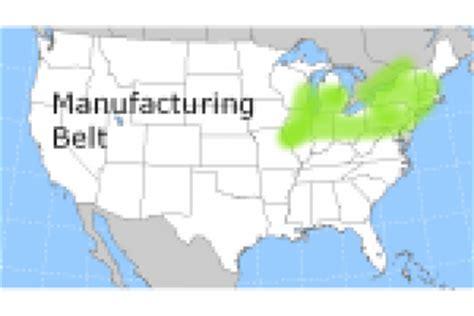 Manufacturing und Boom Belt