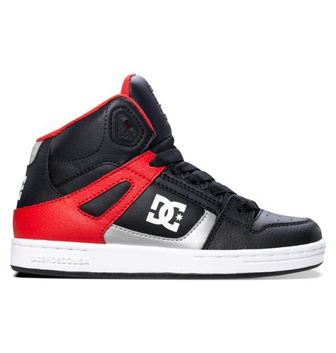 dc shoes high tops for boy s 8 16 rebound high top shoes 302676b dc shoes