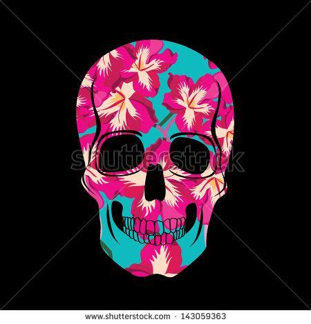 colorful skull colorful skull vector free vector for free