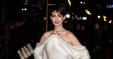 anne hathaways lemonade reaction is actually kind of anne hathaway wears a pearl studded givenchy gown at the