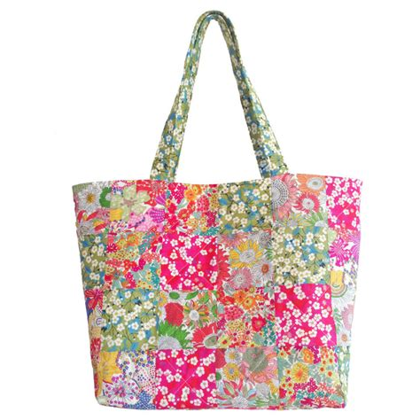Patchwork Cloth - liberty patchwork katherine bag fabric caroline