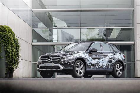 Brennstoffzellenauto Mercedes by Mercedes Glc F Cell In Hybrid Mit Brennstoffzelle