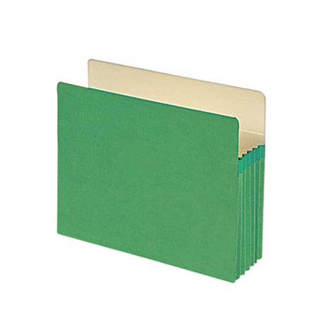 Letter Expansion Smead File Pocket Expanding Pocket Folder 5 14 Expansion Letter Size Redrope By Office Depot