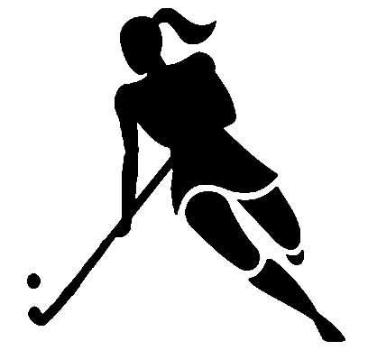 field hockey clipart