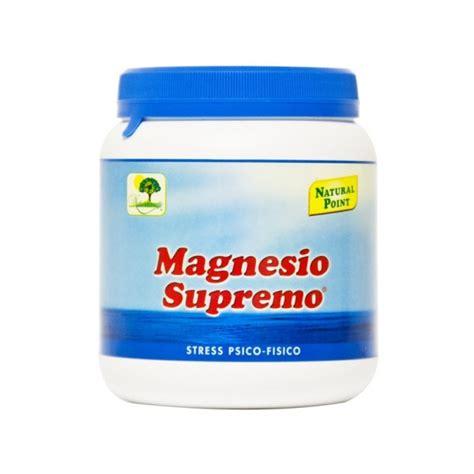magnesio supremo polvere magnesio supremo polvere 300 gr farmasubito
