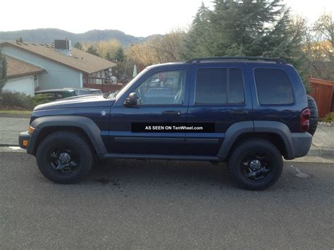 Jeep 3 7 L 2007 Jeep Liberty 4x4 Trail 3 7 Liter V6 Automatic