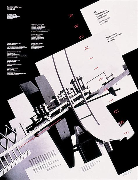 design poster architecture william longhauser design gt work gt posters gt architecture