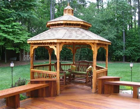 deck gazebo 110 gazebo designs ideas wood vinyl octagon