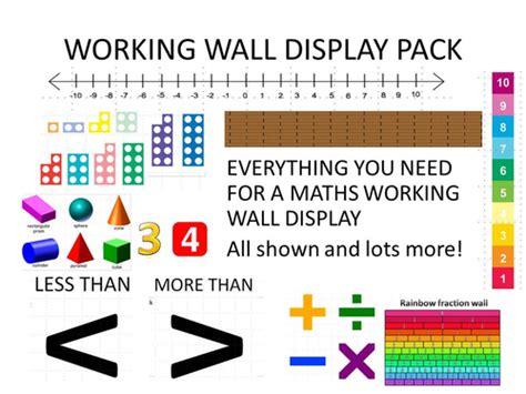 new year ks2 tes maths working wall display pack ks2 by erylands teaching