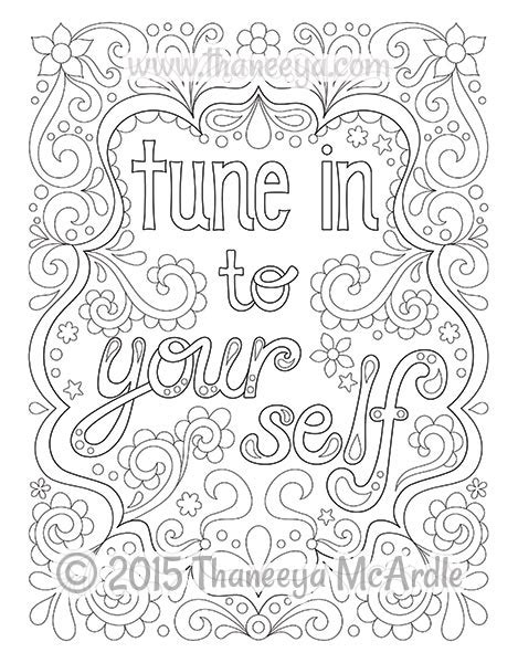 coloring book yourself follow your bliss coloring book by thaneeya mcardle