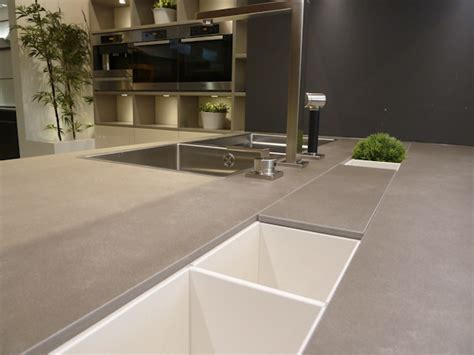 Neolith Countertop by Neolith Barro Color Sintered Porcelain Slab Granix Inc
