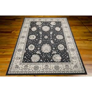 mayamana charcoal area rug wayfair