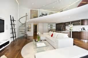 Knightsbridge Apartment With Mezzanine Study   iDesignArch   Interior Design, Architecture