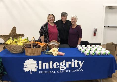 sharing  caring squad integrity federal credit union