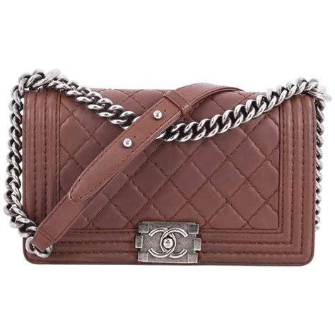 Chanel Calfskin Logo Flap Bag by Chanel Stitch Boy Flap Bag Quilted Calfskin Medium At