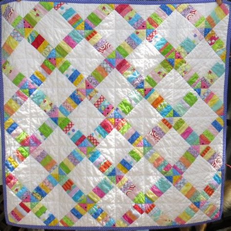 Handmade Baby Quilt Patterns - bright handmade baby quilt