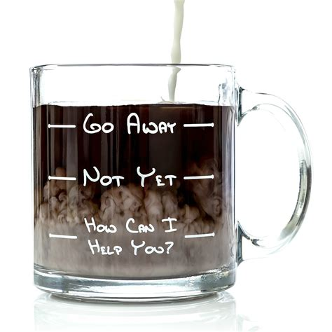 novelty coffee mugs funny coffee mugs and mugs with quotes go away funny