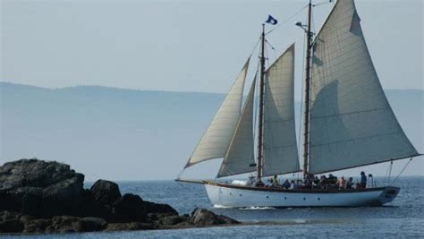 cruise boats near me camden maine sailing cruises and charters schooner olad