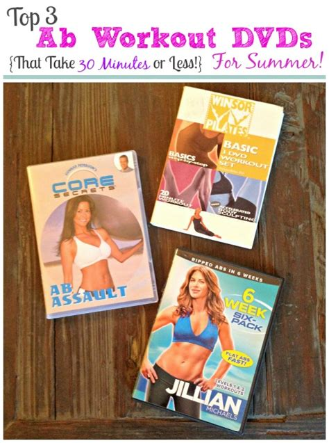 top 3 ab workout dvds that take 30 minutes or less