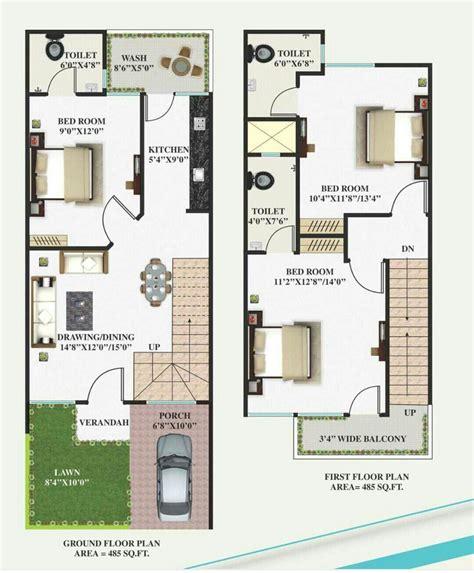 22 cent house grapic design plan 15 x 40 working plans in 2019 house plans duplex house plans architectural house plans