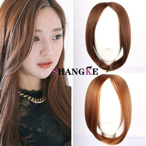 hair extensions for damaged hair in feont las 25 mejores ideas sobre flequillo falso en pinterest