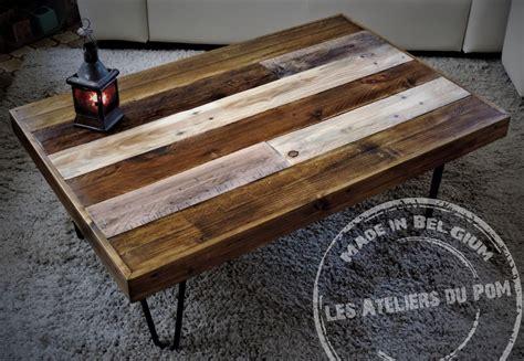 Table Salon Palette by Table Basse De Salon En Bois De Palette Mod 232 Le Patchwork