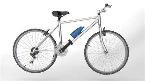 solidworks tutorial bike moutain bike step iges stl solidworks 3d cad model
