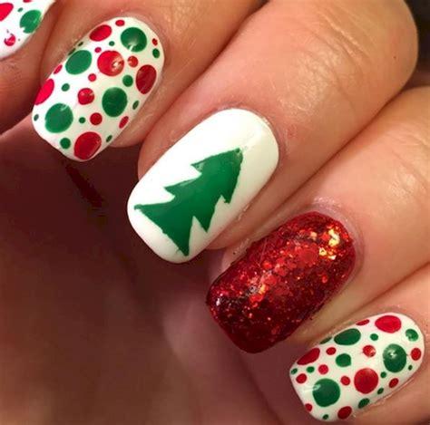 imagenes de uñas en blanco y rojo 15 dise 241 os de u 241 as fant 225 sticos para estas navidades