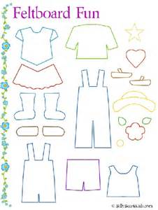 felt board templates felt board clothes template just for them