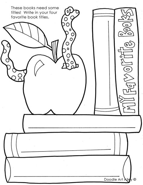 color my coloring book books reading coloring pages printables classroom doodles