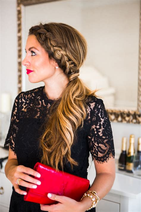 teacher hairdos dutch braid ponytail tutorial giveaway the teacher