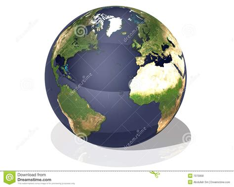 earth top view royalty  stock  image