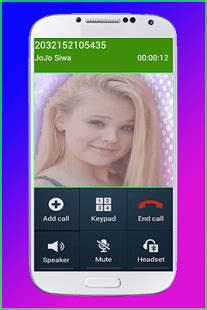 call prank from jojo siwa 1.5 apk download