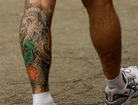 tattoos on leg for men 50 leg tattoos for inkdoneright