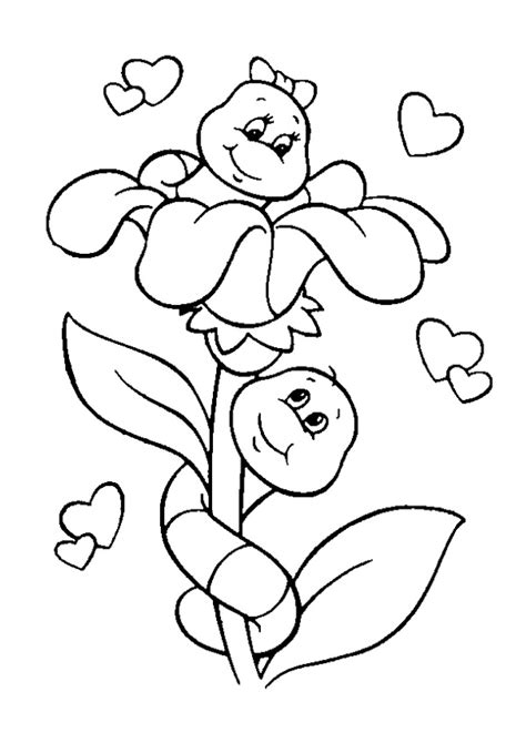 printable coloring pages 2 year olds gusanos colorear el bagul dels jocs en castellano